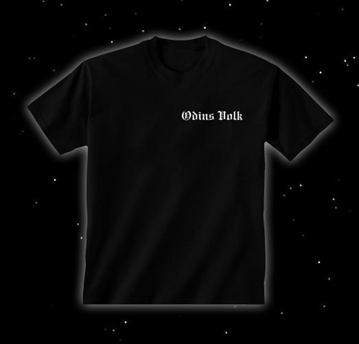 """T-Shirt """"Odins Volk"""", schwarz"""