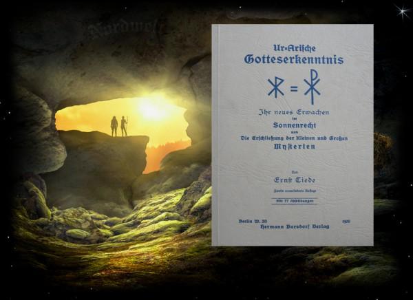 Buch Ernst Tiede - ..... Sonnenrecht und die Erschließung heidnische Religion Pagan Asatru Naturglaube