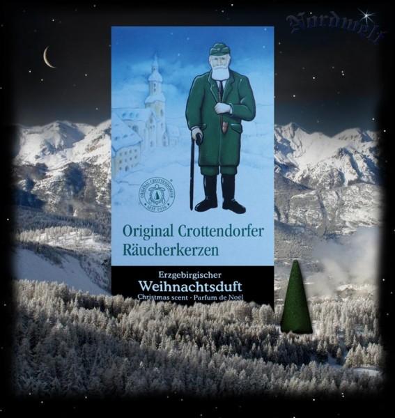 Räucherkegel Räucherkerzen Erzgebirgischer Weihnachtsduft Julfest Rauch