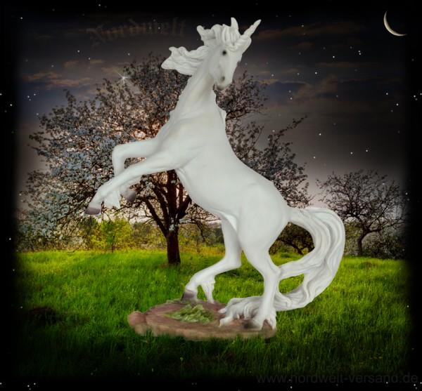 Einhorn Fabelwesen Avalon Apfelinsel indogermanisch nordische Mythologie