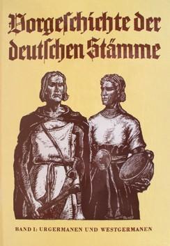 Vorgeschichte der deutschen Stämme Buch germanische Frühgeschichte H. Reinerth
