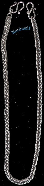Königskette 50 cm - 925er Silber