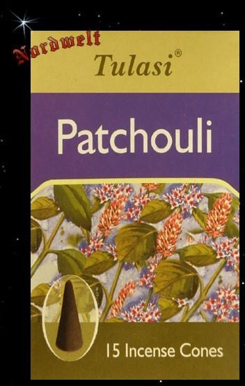 "Räucherkegel ""Patschuli / Patchouli"" (Tulasi)"