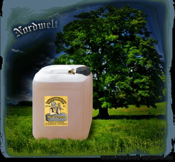Honigwein im Kanister Met feinherb herbe Sorten
