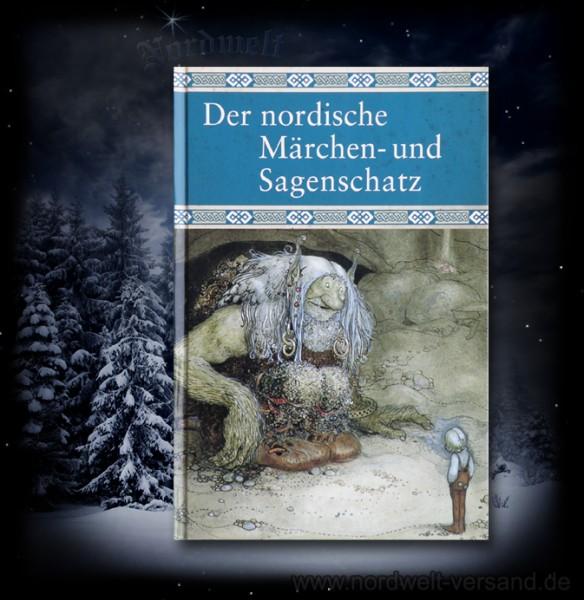 Der nordische Märchen- und Sagenschatz Buch Mythen legenden Wikinger Germanen