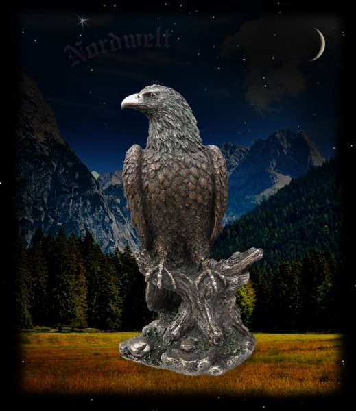 Adler, bronziert