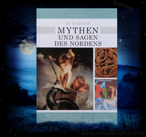 Buch Mythen und Sagen des Nordens germanische Religion und Legenden Edmund Jacoby