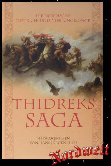 Buch Thidreks Saga - germanische Mythen und Legenden Hans-Jürgen Hube Volkssagen