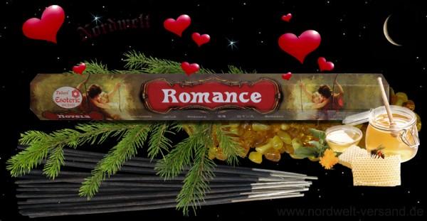 Romantik Esoterik Serie Tulasi Räcuherstäbchen