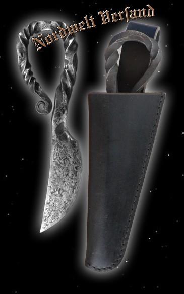 Damenmesser Eisenzeit Wikinger Messer historisch Damengrab Birka