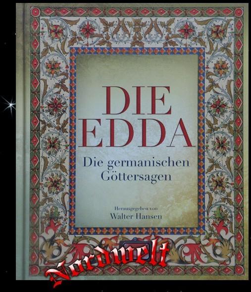 Buch Die Edda - Germanische Göttersagen Asatru Pagan Bücher Mythen Sagen und Legenden Walter Hansen