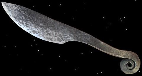 Ringknaufmesser Eisenzeit Messer Gebrauchsmesser historisch