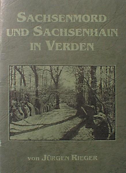 Sachsenmord und Sachsenhain in Verden von Jürgen Rieger Artgemeinschaft GGG e.V. heidnischer Glaube Heft