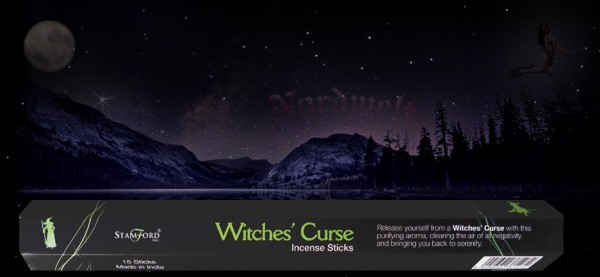 Witches Curse Räucherstäbchen räuchern Räucherkegel Hexenfluch räuchern Stamford