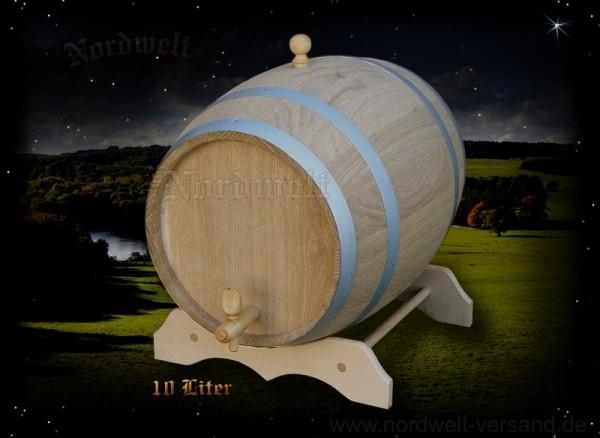 Fass 10 Liter aus Eichenholz