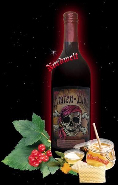 Piratenblut Piraten Getränk Freibeuter Wein Johannisbeerwein Honigwein Met