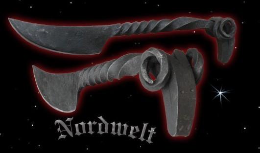 Reenactment Widderkopf Messer Mittelalter