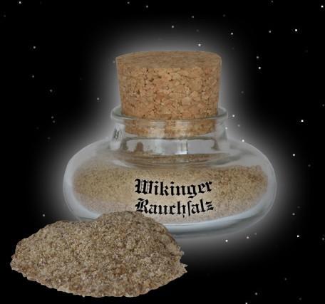 Rauchsalz Salz geräuchert Wikinger Wikingersalz Wacholder
