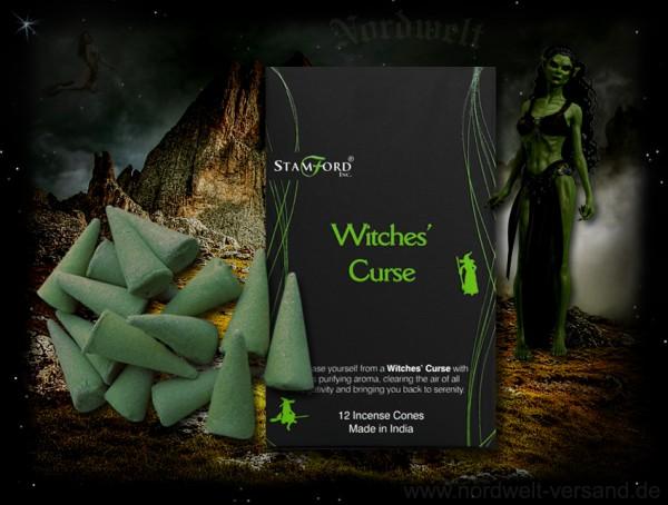 Räucherkegel Hexenfluch Fluch der Hexe