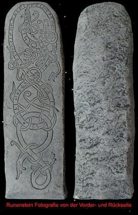 Runenstein/Menhir von Uppland (Schweden)