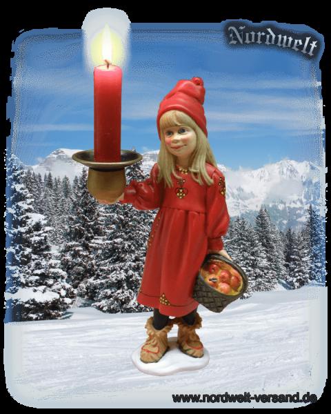 Jul-Maid Julmädchen Skandinavien Volkskunst Brauchtum zum Julfest