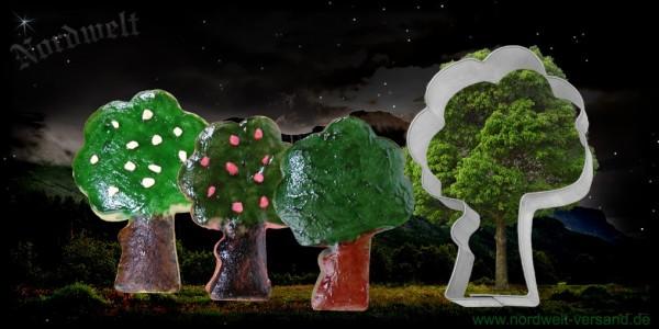 "Teigform ""Lebensbaum""/ Avalon - ""Apfel-Baum"", Edelstahl"