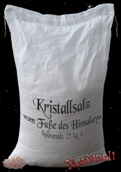 25 kg Sack Himalaya Salz