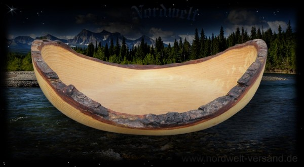 Holzschale aus Erlenholz Schale aus Erle heiliger Baum der Wintergöttin Skadi