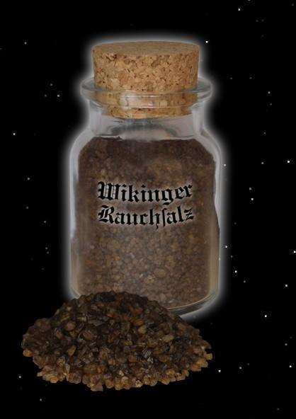 Rauchsalz Salz geräuchert Wikinger Wikingersalz Wacholder Wikingerart