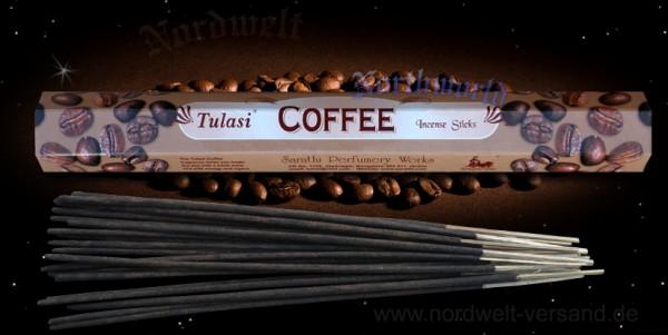 Räucherstäbchen Keffee Duft Tulasi räuchern Räucherkegel und Räucher Zubehör Coffee