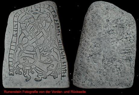 Runenstein/Menhir von Närke (Schweden)