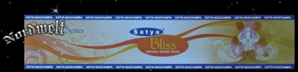 Bliss Räucherstäbchen Satya Nag Champa Gelassenheit räuchern Yoga-Serie