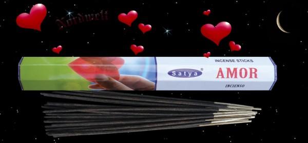 Liebe Räucherstäbchen Satya Love Amor