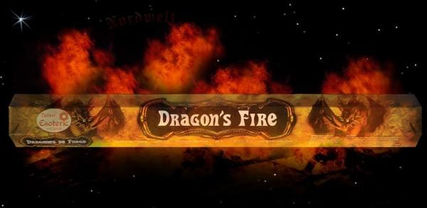 """Räucherstäbchen """"Drachen Feuer"""" Dragon Fire Räucher-Stäbchen Tulasi Esoterik Serie"""