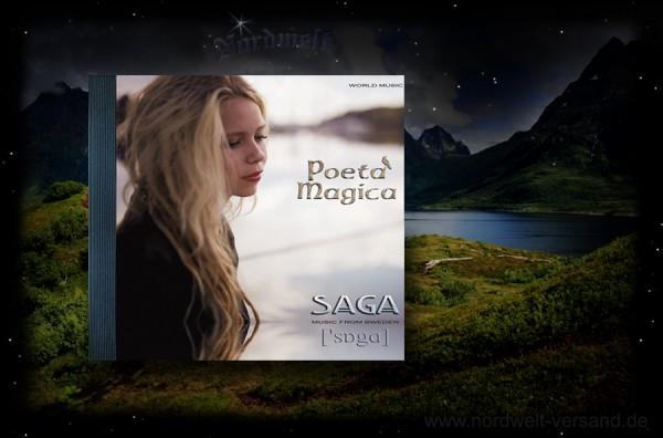 CD Poeta Magica - SAGA Pagan Musik Asatru heidnische Klänge