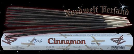 Zimt Räucherstäbchen Cinnamon räuchern Räucherkegel und Räucher Zubehör Stamford