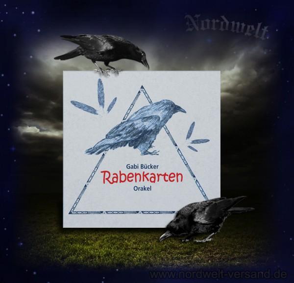 Rabenkarten Odins Raben Orakel- Spiel Kartenspiel