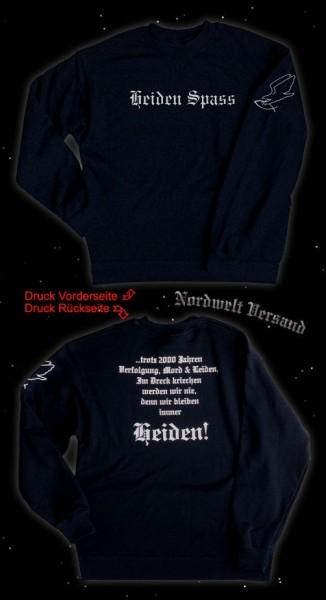 """Pullover """"Heidenspaß"""", schwarz"""
