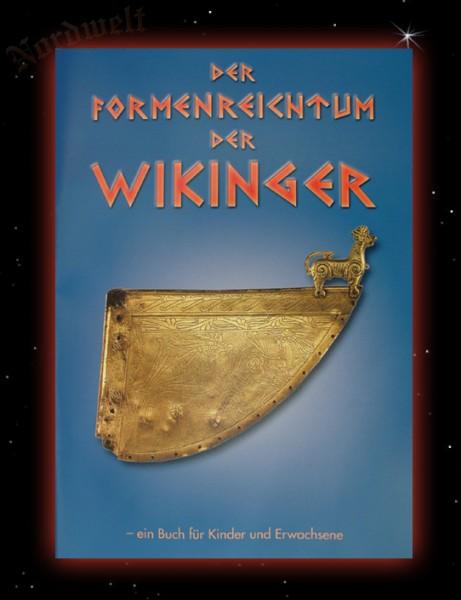 Formenreichtum der Wikinger Buch zum Ausmalen mit Wikingermotiven
