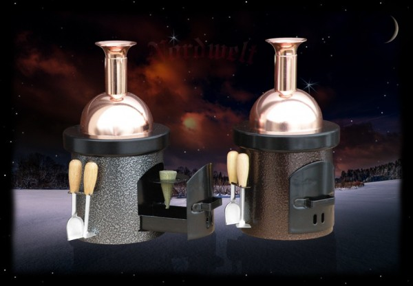 Raucherofen Räuchkegel Halter Räucherhütchen Zubehör-Räucherware silberfarben