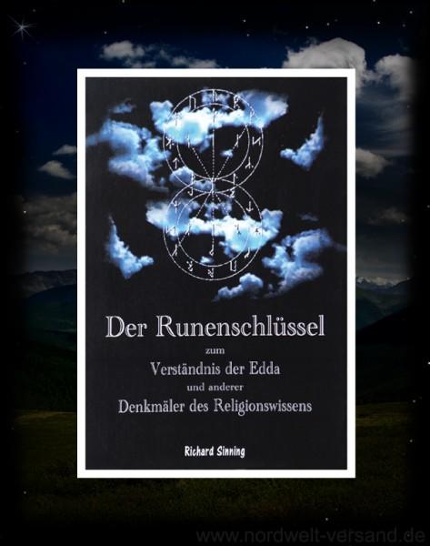 Der Runenschlüssel Buch von Richard Sinnig Asatru 18er Runen Futhark