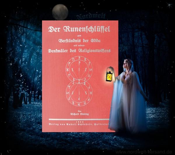 Runen Buch der Runenschlüssel Richard Sinnig Erklärung 18er Futhark