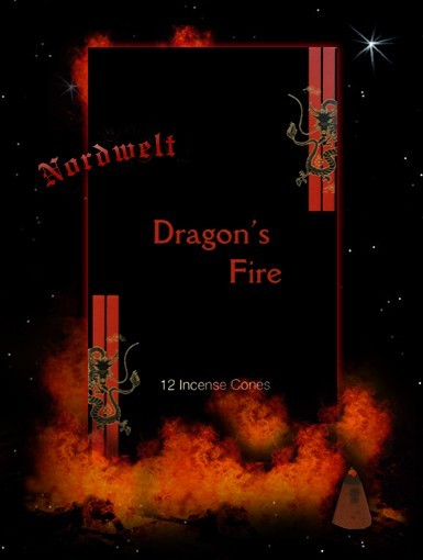 Räucherkegel Dragons Fire Stamford Räucherkerzen Räucherhütchen Drachen Feuer
