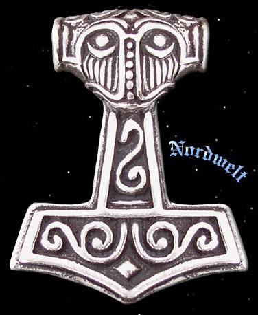 Thors-Hammer Nordmann Silber Schmuck Thorshammer