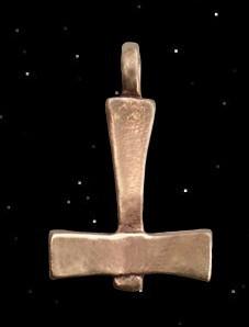 Thorhammer von Lund, bronze