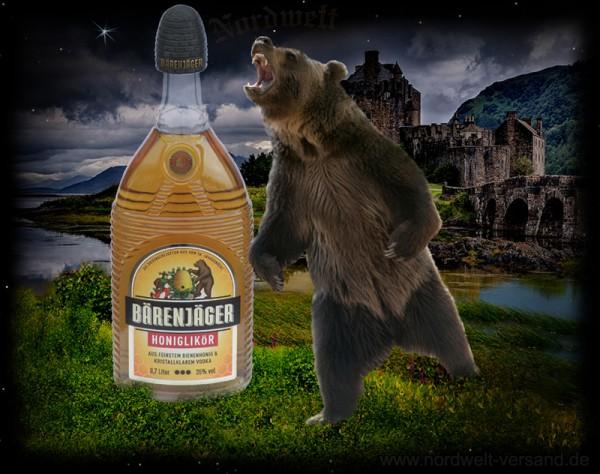 Honigschnaps Bärenjäger Honig Schnaps
