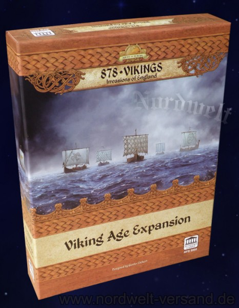 Viking - Viking Age Expansion Historical Map Board