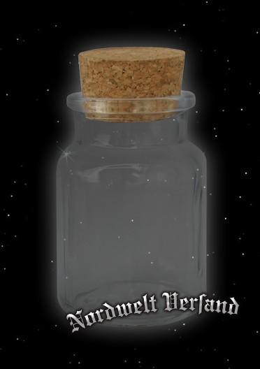 Vorratsglas Robuste Gläser mit Korken 150 ml