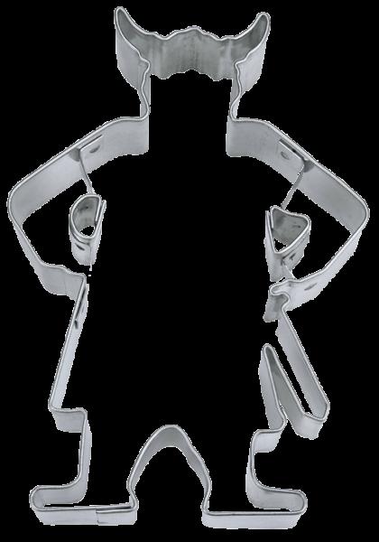 Teigform Ausstechform Krieger Berserker Ausstecher Kekse Symbolgebäck KEIN Wikinger