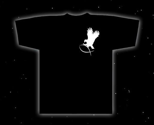 T-Shirt Adler greif Fisch heidnisches Symbol T-Hemd Asatru